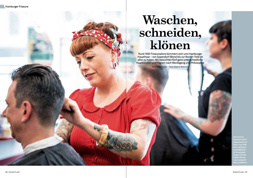 Friseure in Hamburg