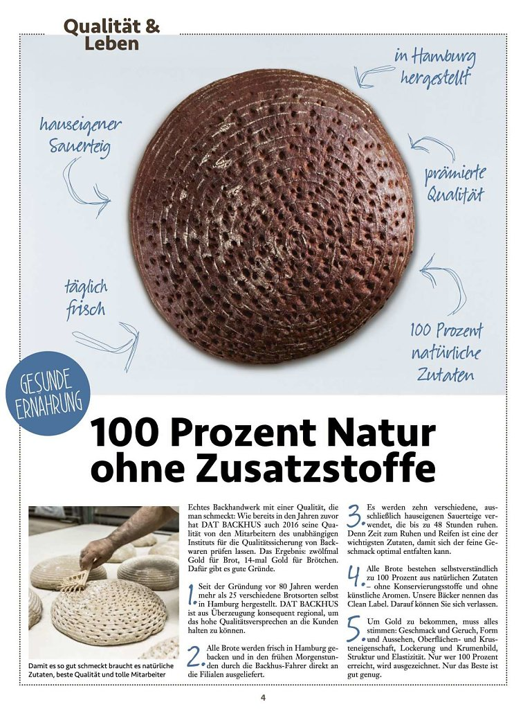 DATBackhus Kundenzeitschrift 1/2016